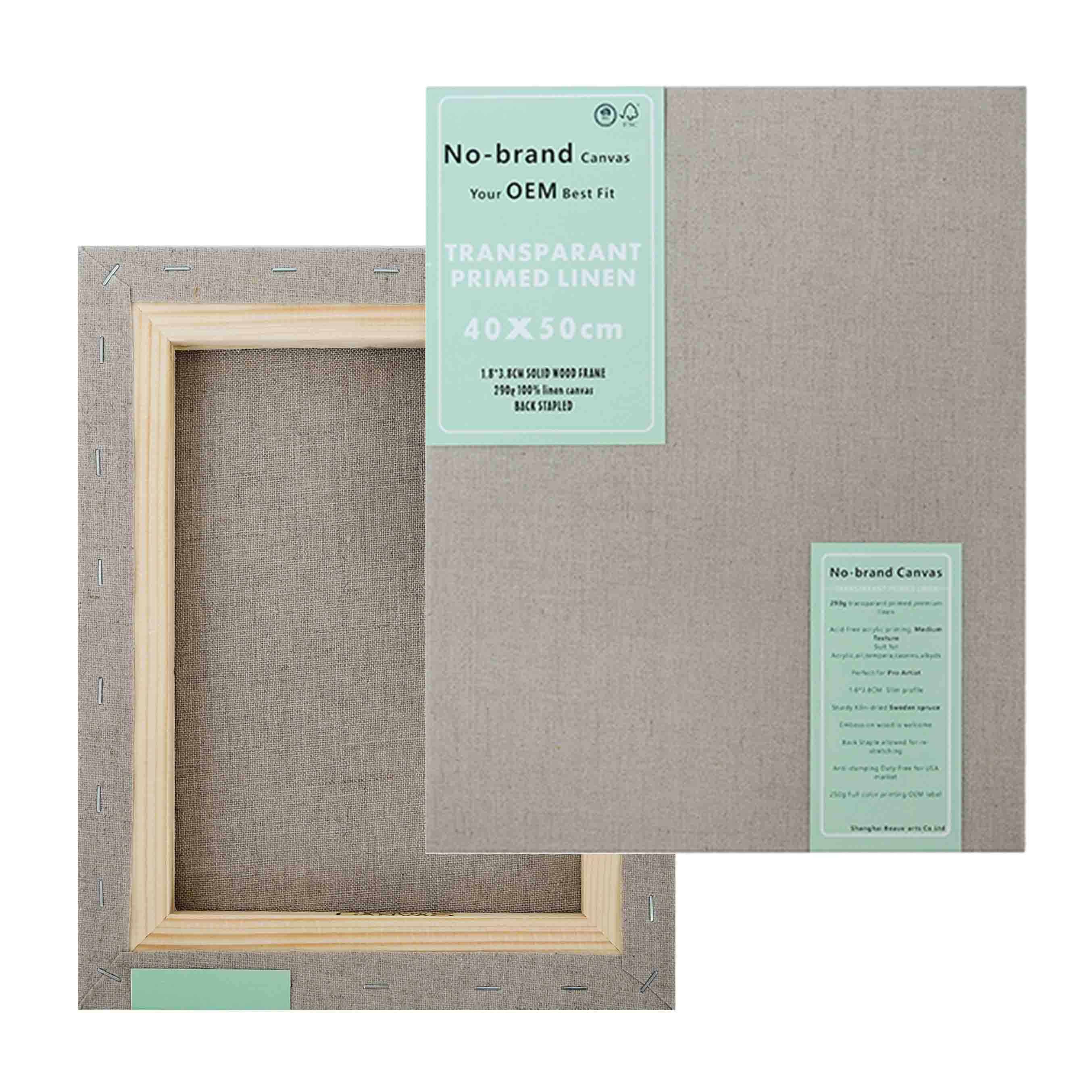 Linen Stretched Canvas