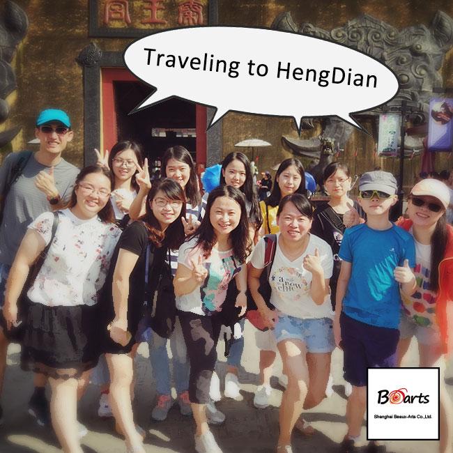 Meeting Hengdian World Studios