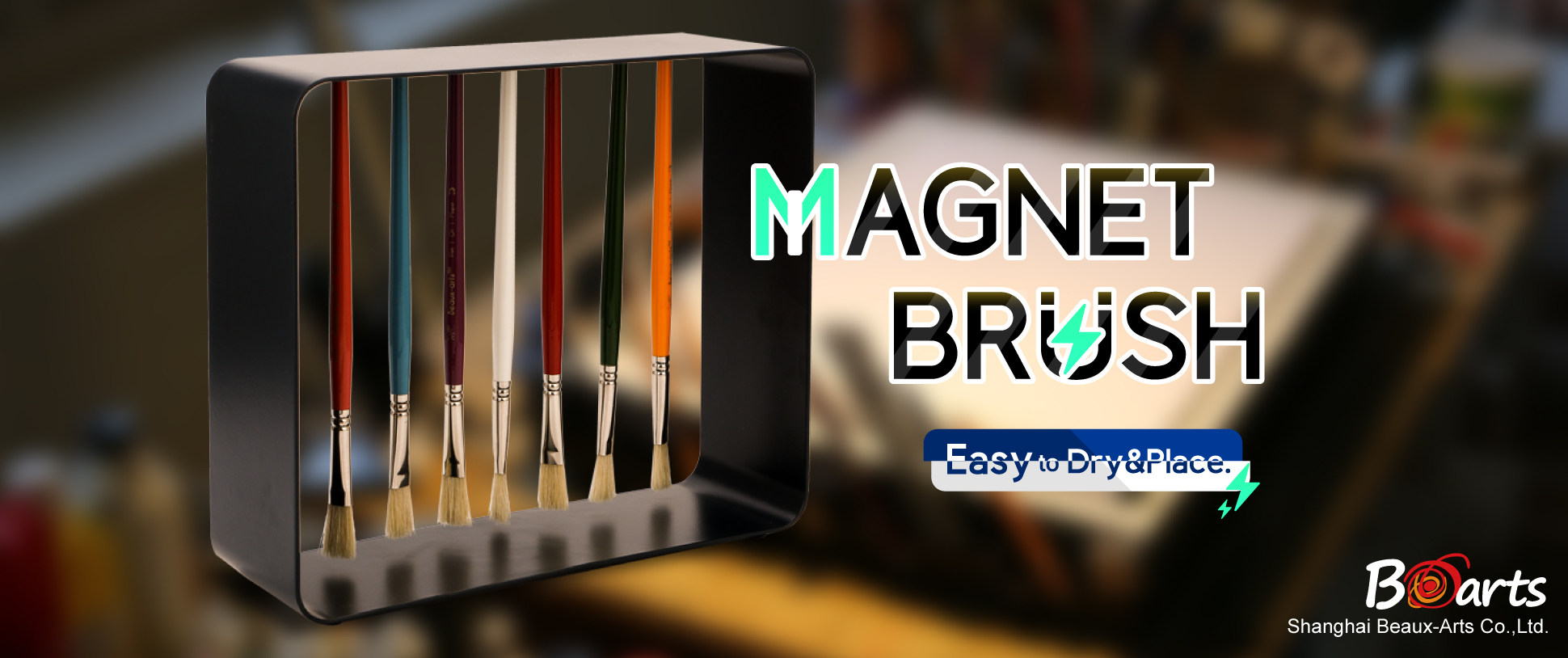 Promotion of December: new product - Magnet Brush Set
